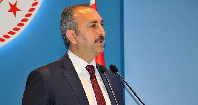 Adalet Bakanı Gül: 'Adaleti sağlamak adına bütün engebeleri kaldırmak temel hedefimizdir'