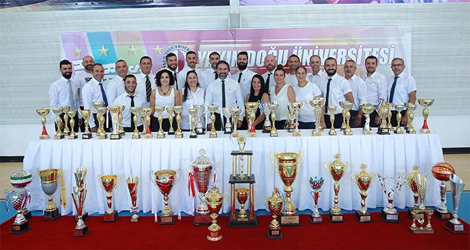 Yakın Doğu Üniversitesi'nden 2018-2019 sezonunda 73 şampiyonluk