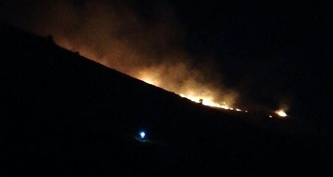 Malatya'daki yangın 3 saat sonra söndürüldü