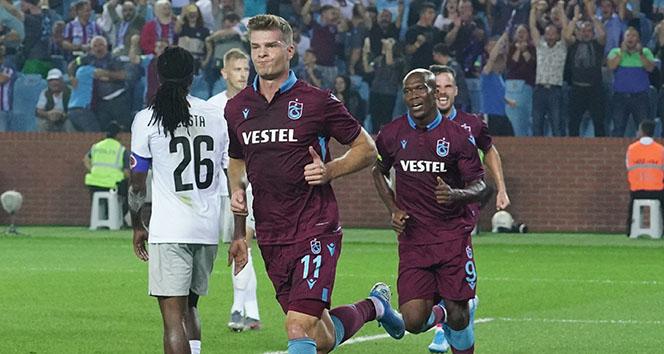 Trabzonspor'da Alexander Sörloth rüzgarı