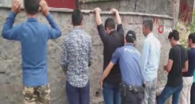 Başkentte 180 düzensiz göçmen yakalandı