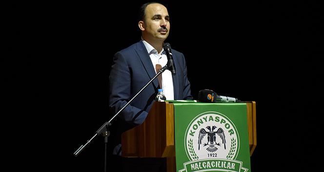 """Başkan Altay: """"Konyaspor'a destek olmaya devam edeceğiz"""""""