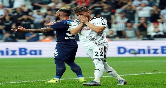 Süper Lig: Beşiktaş: 0 - Çaykur Rizespor: 1 (İlk Yarı