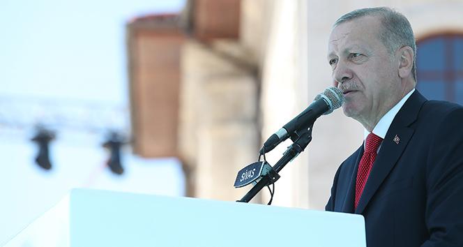 Cumhurbaşkanı Erdoğan: 'Vatanımıza, bayrağımıza, istiklalimize uzanan her eli kırdık yine kırarız'