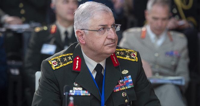 Genelkurmay Başkanı Orgeneral Güler, ABD'li mevkidaşıyla görüştü
