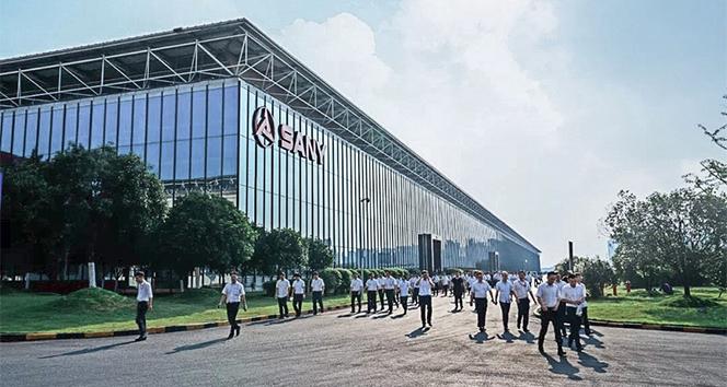 SANY Heavy Industry, tarihinin en iyi ilk yarıyılına imza attığı duyurdu