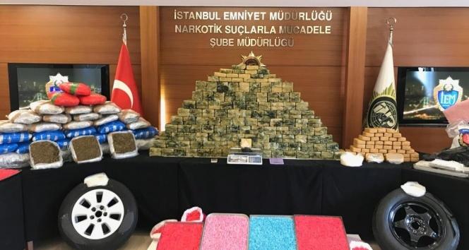 İstanbul'da peş peşe uyuşturucu operasyonları: 22 gözaltı