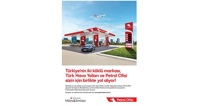 Türk Hava Yolları yolcu programı Miles&Smiles'dan Petrol Ofisi ile iş birliği