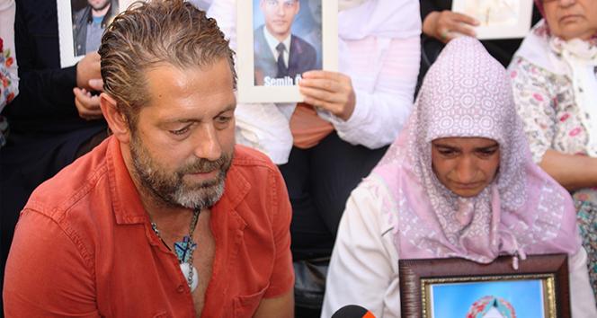 HDP önünde eylem yapan annelere sanatçı Bora Gencer'den destek ziyareti