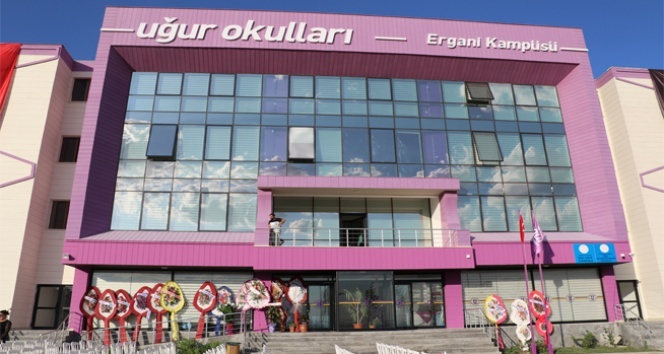 Uğur Okulları'ndan Ergani'ye doğa ve spor dostu kampüs