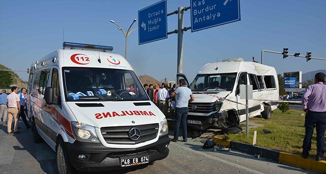 Dalaman'daki kazaya karışan 2 sürücü tutuklandı