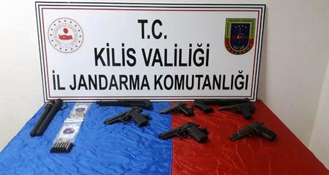 Kilis'te silah operasyonu :1 gözaltı