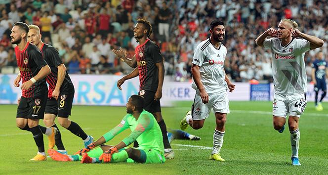Gazişehir Gaziantep ile Beşiktaş 6. randevuda