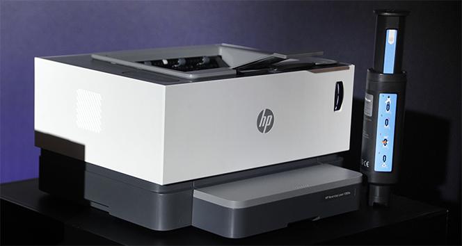 'HP' dünyanın ilk toner doldurulabilir tanklı lazer yazıcısını piyasaya sundu