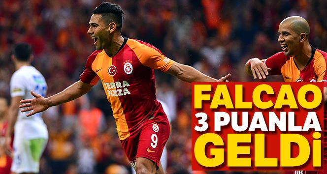 Falcao 3 puanla geldi! Maç sonucu: Galatasaray 1 - 0 Kasımpaşa