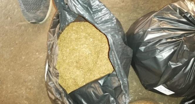 Kocaeli'de ekiplerden iş yerlerine kaçak tütün operasyonu