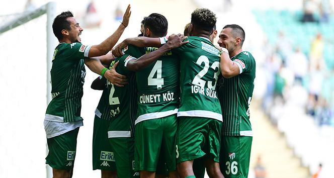 Bursaspor, Osmanlıspor'u 3 golle geçti