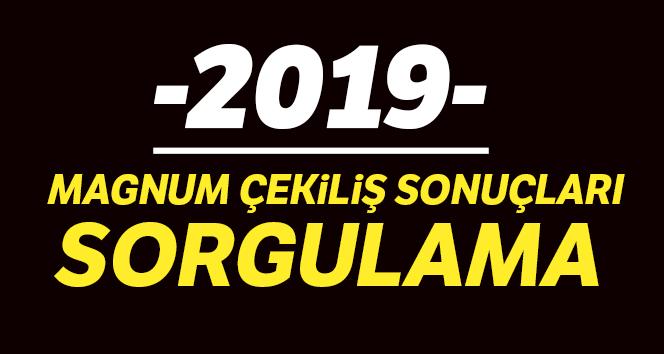 MAGNUM Çekiliş Sonuçları 2019 | İşte Magnum Masarati araba çekiliş sonucu detayları !