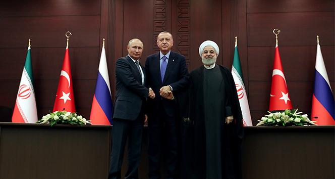 Türkiye-Rusya-İran ortak açıklaması