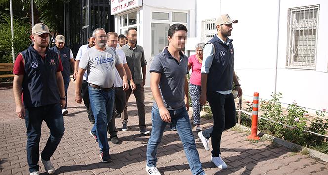 Antalya merkezli FETÖ operasyonu: 13 gözaltı