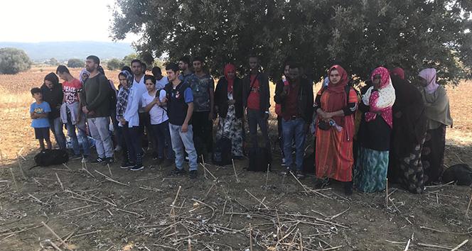 Çanakkale'de 32 mülteci yakalandı