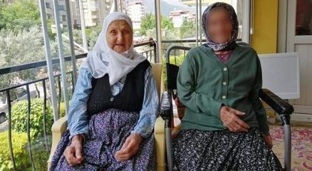 Antalyada 92 yaşındaki kadına baltalı gasp