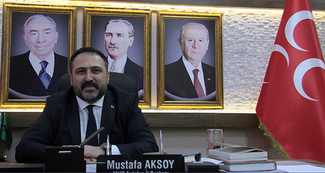 MHP Antalya İl Başkanı Aksoy görevinden istifa etti