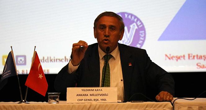 """CHP Genel Başkan Yardımcısı Kaya: """"İnsan beynini vatan toprağı kadar kutsal kabul ediyoruz"""""""