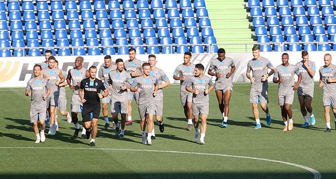 Trabzonspor, Getafe maçı hazırlıklarını tamamladı