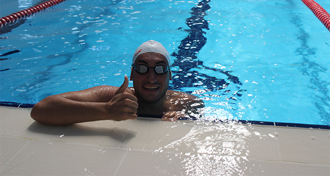 Dünyanın ilk otizmli Ironman (Demir adam) unvanlı sporcusu Can'ın hedefi, Manş Denizi'ni geçmek