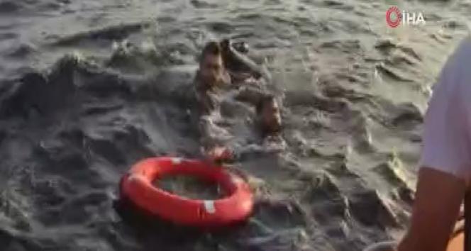 Göçmen botu battı, bir bebek kayıp