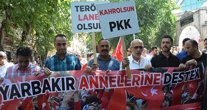 Siirt'teki STK'lardan, Diyarbakır annelerine destek