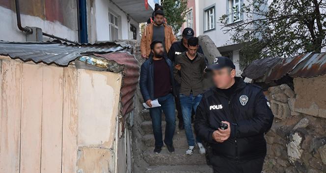 Erzurum'da çeşitli suçlardan aranması olan 16 kişi yakalandı