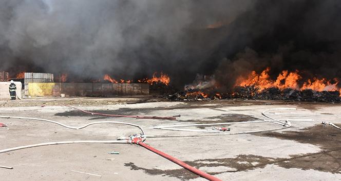 Kırıkkale OSBde fabrika yangını kontrol altına alındı