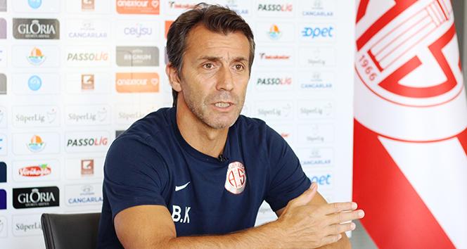 Bülent Korkmaz: 'Fenerbahçe karşısında kazanmak için oynayacağız'
