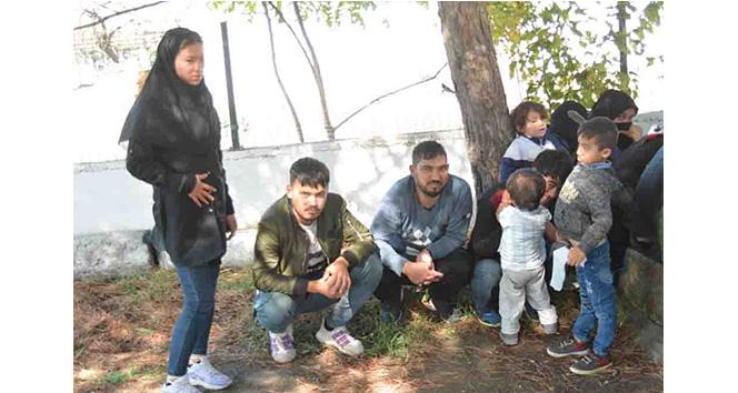 Çanakkale'de 190 mülteci yakalandı