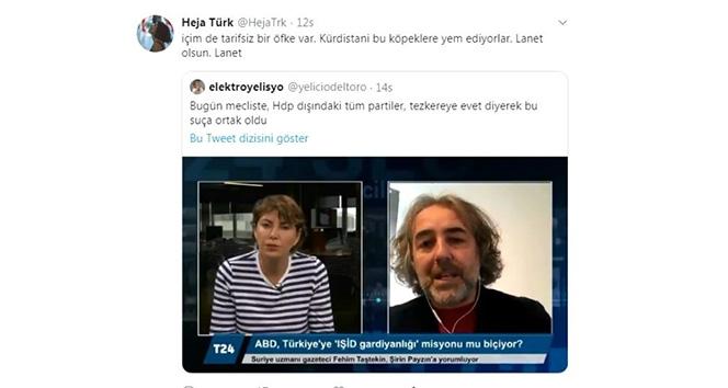 Ahmet Türk'ün torunundan Barış Pınarı Harekatı'na ilişkin skandal paylaşım