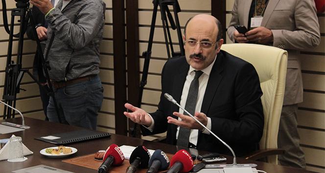 YÖK Başkanı Saraç: 'Mehmetçiklerimizi Allah korusun, yar ve yardımcısı olsun'