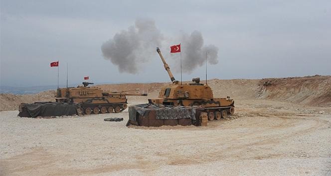 TSK, terör örgütüne ait 181 hedefi ateş altına aldı