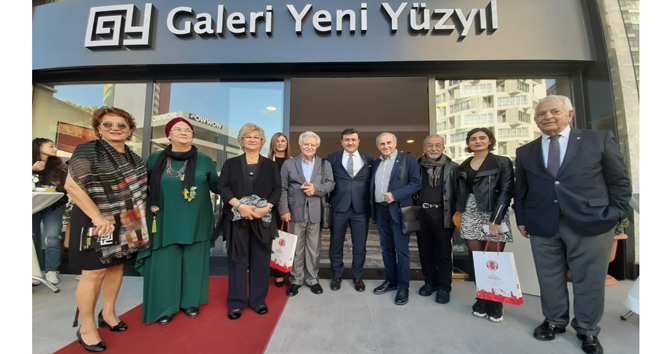 Galeri Yeni Yüzyıl kapılarını sanatçılara ve sanatseverlere açtı