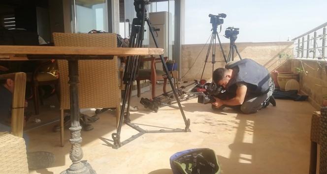 YPG'den gazetecilerin bulunduğu alana keskin nişancılarla saldırı: 2 yaralı