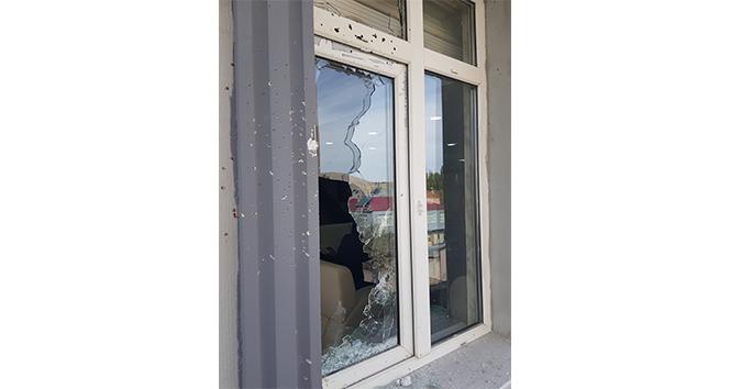 Sarız Belediyesi'ne silahlı saldırı