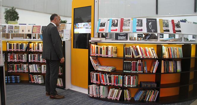İstanbul Havalimanı'nda dünyada ilk kez uygulanan kütüphane projesi