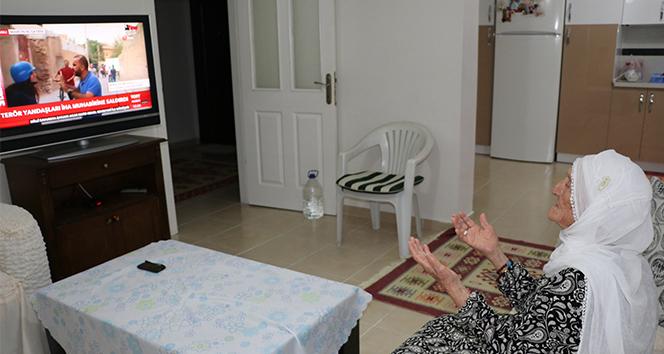 En yaşlı hacı Fikriye nineden Mehmetçik'e dua