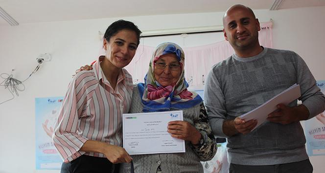Kadınlara hijyen eğitimi götüren 'Hijyen Sağlıktır' projesi 15 bölgede bin 200 kadına ulaştı