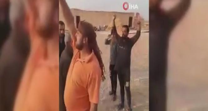 Suriye Milli Ordusu, köy sakinleri tarafından sevinçle karşılandı