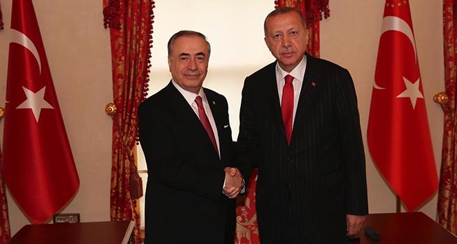 Mustafa Cengiz, Cumhurbaşkanı Erdoğan'ı ziyaret etti