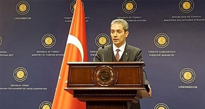 Dışişleri'nden Arap Ligi Genel Sekreterine cevap