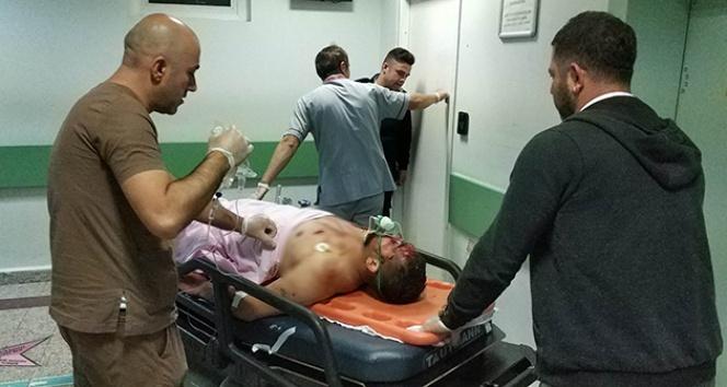 Millet Bahçesi inşaat alanında bıçaklı kavga:1'i ağır 3 yaralı