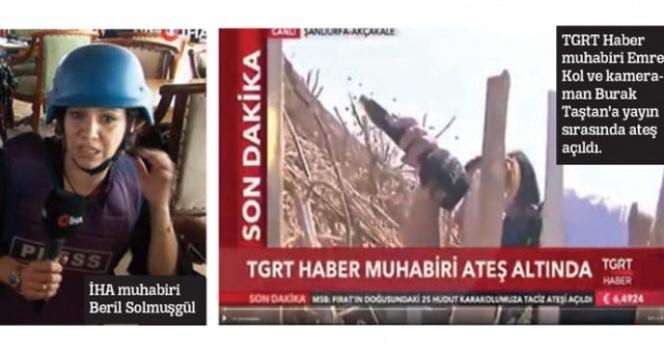 Teröristler medyayı susturmaya çalışıyor